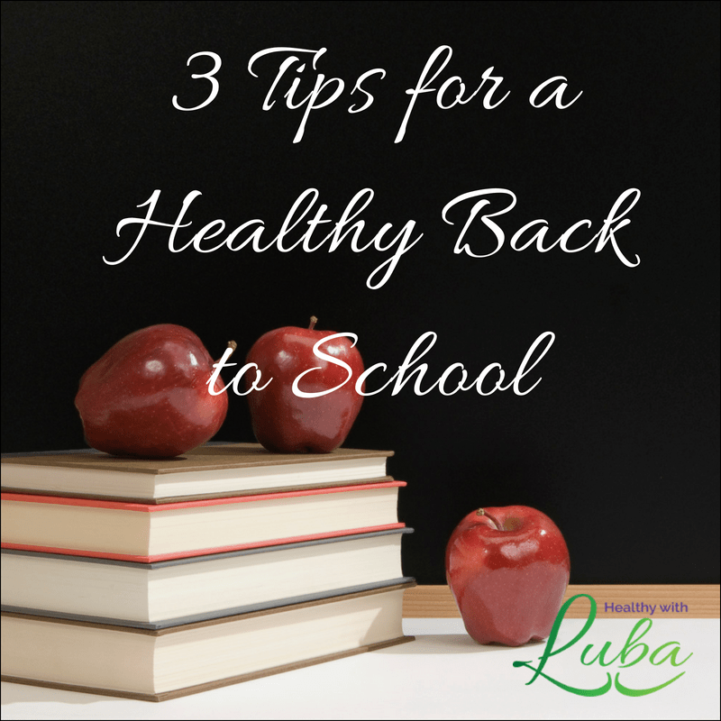 3 tips for a healthy back to school #immunity #backtoschool #healthyliving #hygiene