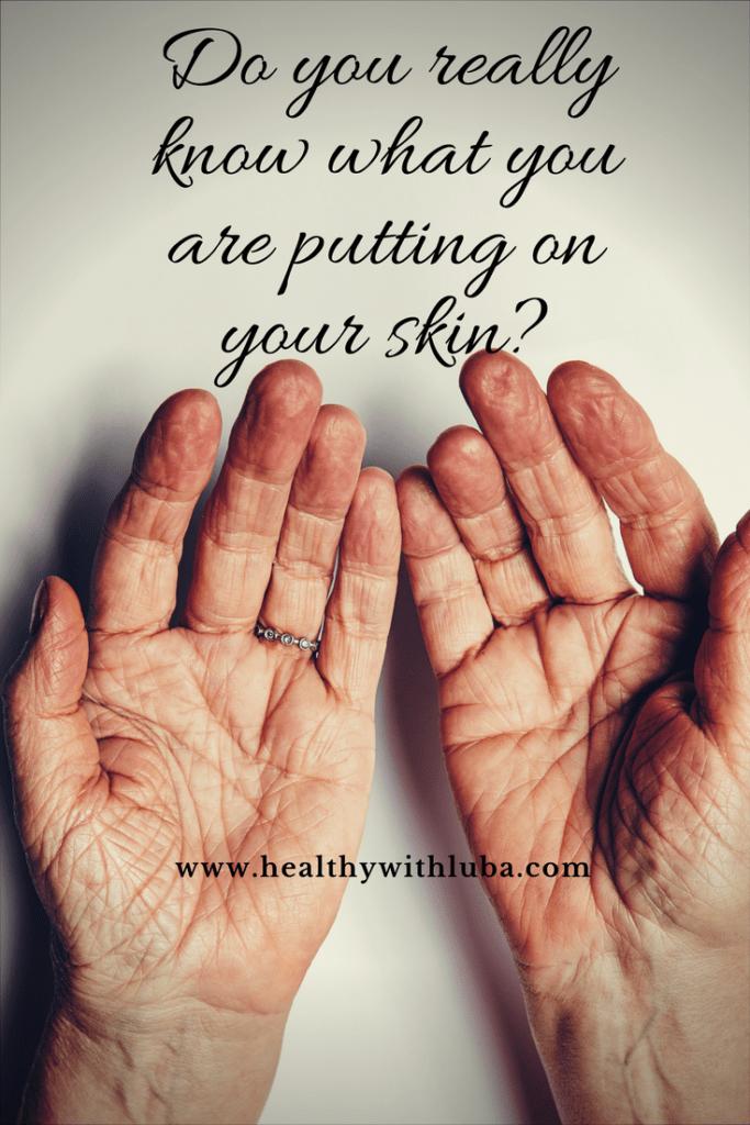 Do you really know what you are putting on your skin? www.healthywithluba.com