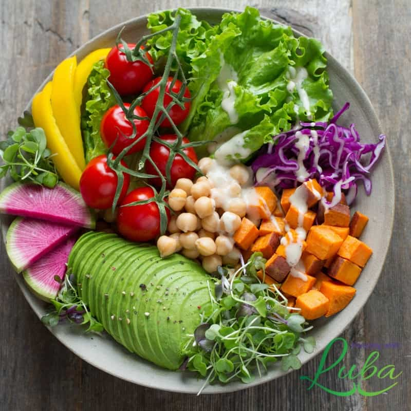 organized home healthy eating soup salad wellness vegetables low carb