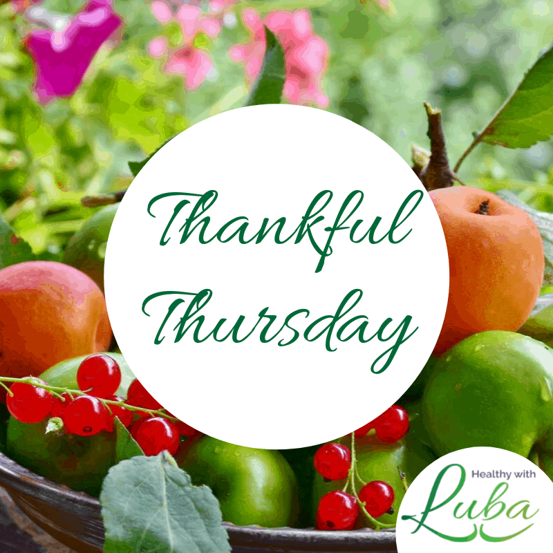 Thankful Thursday – April 9, 2020