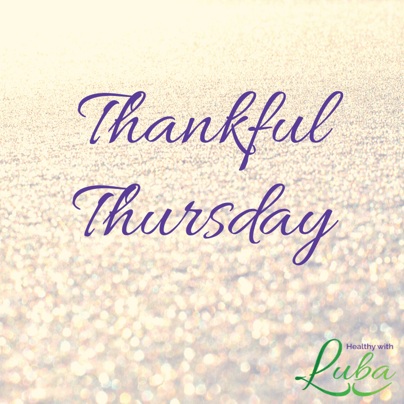 Thankful Thursday – December 19