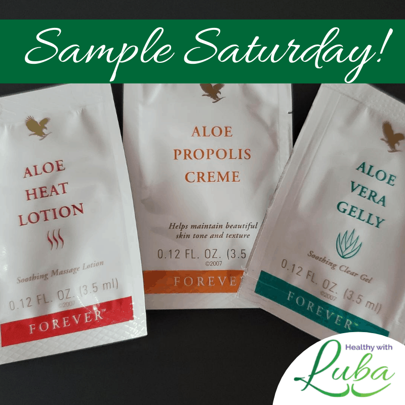 Sample Saturday – Aloe Vera Samples